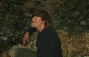 Cropped cave portrait